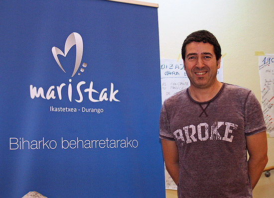 Daniel Irazola, nuevo director de Maristak.